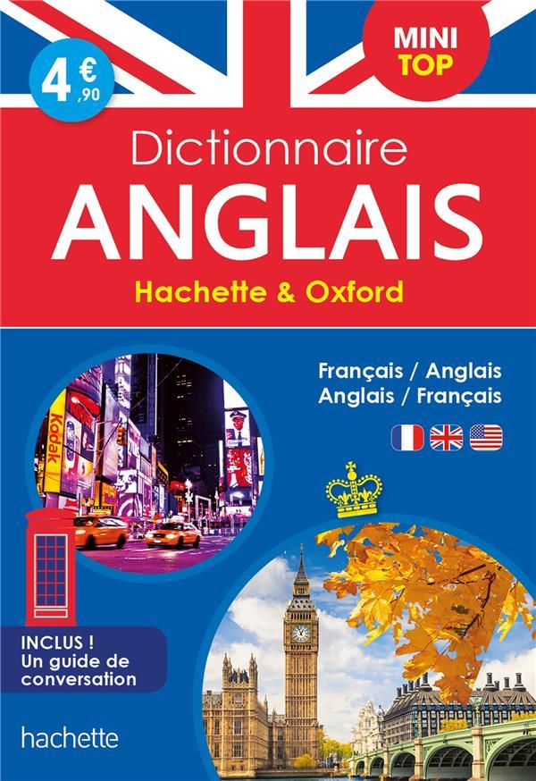 DICTIONNAIRE HACHETTE et OXFORD MINI TOP  -  FRANCAIS-ANGLAIS  ANGLAIS-FRANCAIS XXX