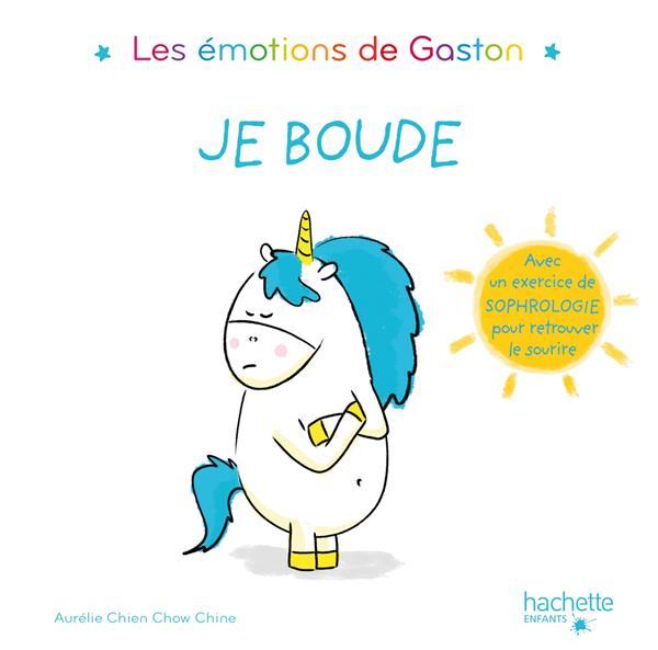 Les émotions de Gaston ; je boude
