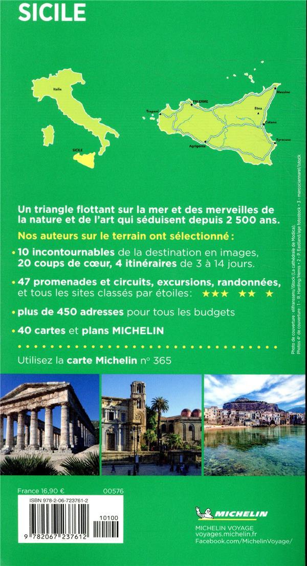 le guide vert ; Sicile (édition 2019)