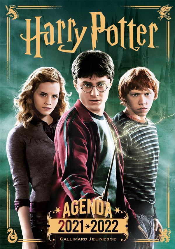 agenda Harry Potter (édition 2021/2022)