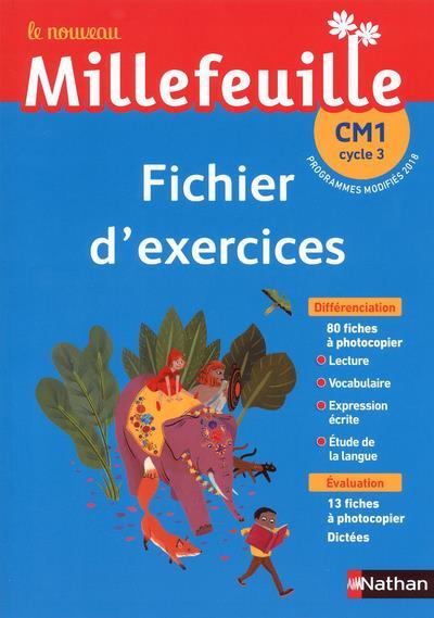 Mille Feuilles Francais Fichier D Exercices Cm1