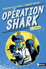 Vente Livre Numérique : Opértion Shark - Amos - Tome 1 - dès 8 ans  - Christelle Chatel