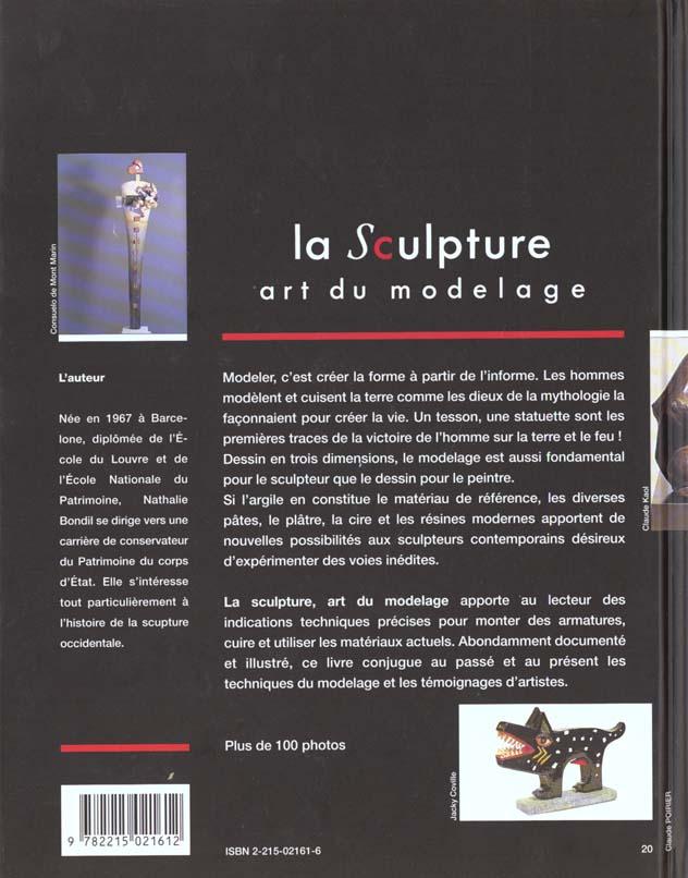 La sculpture art du modelage