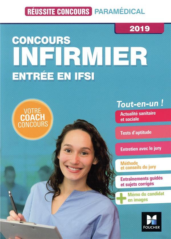 Réussite concours ; infirmier ; entrée en IFSI (édition 2019)