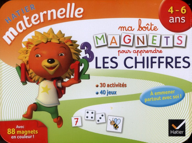 Ma Boite De Magnets Pour Apprendre Les Chiffres