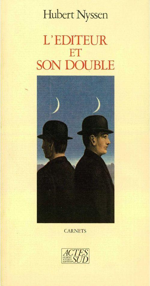 Editeur et son double (l')t1