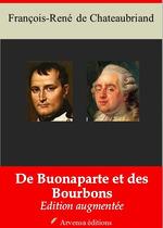 Vente Livre Numérique : De Buonaparte et des Bourbons - suivi d'annexes  - François-René de Chateaubriand