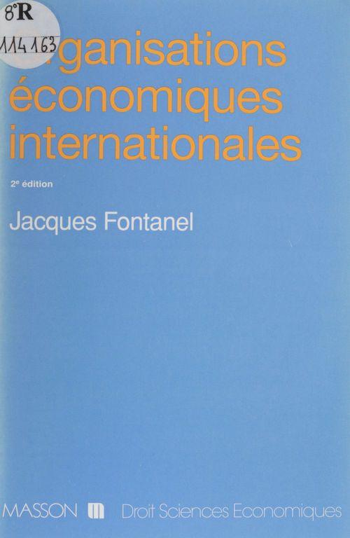 Organisations economiq int 2e ed