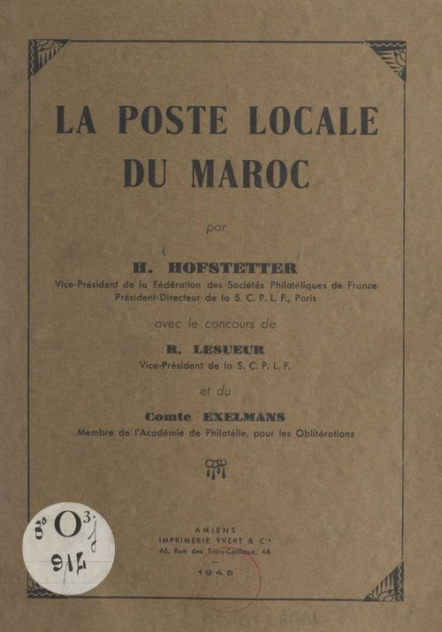 La poste locale du Maroc
