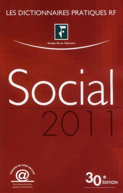 Dictionnaire social (édition 2011)