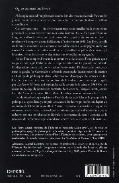 l'anticonformiste ; une autobiographie intellectuelle