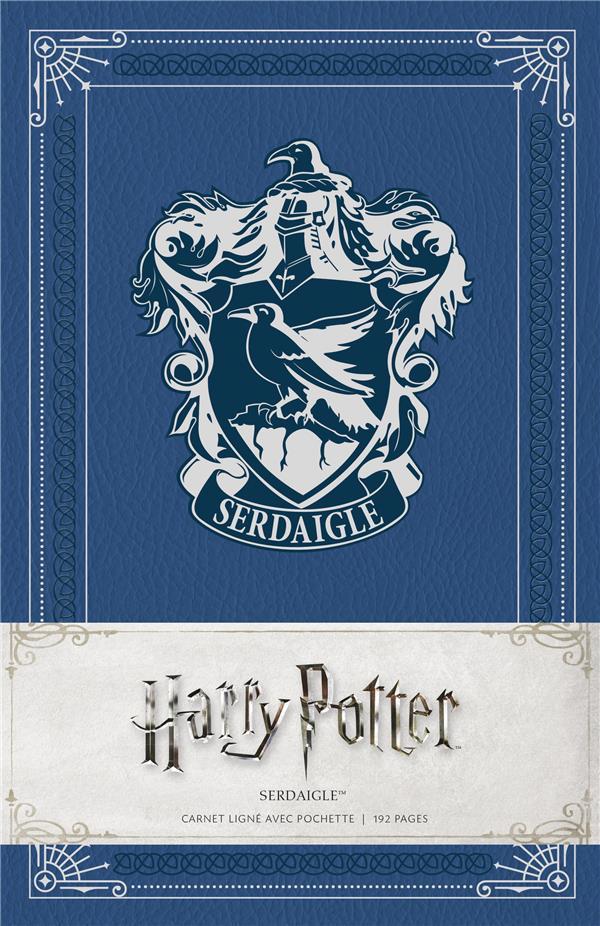 Harry Potter ; Serdaigle ; carnet ligné avec pochette