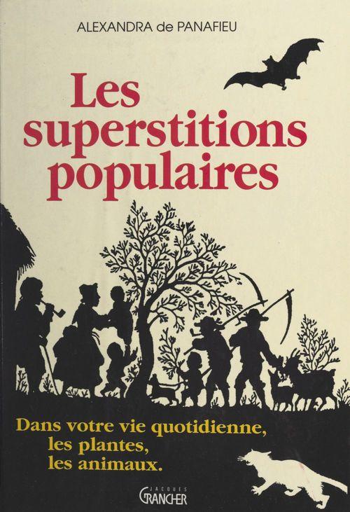 Les superstitions populaires