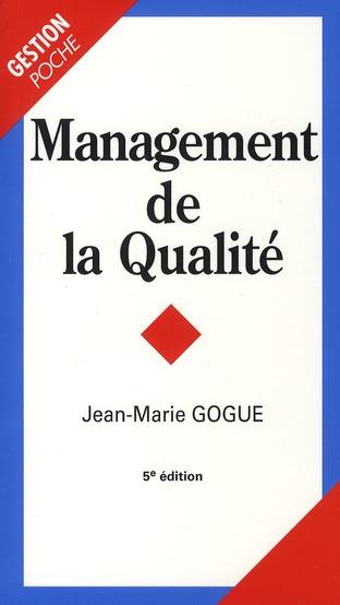 Management De La Qualite (5e Edition)