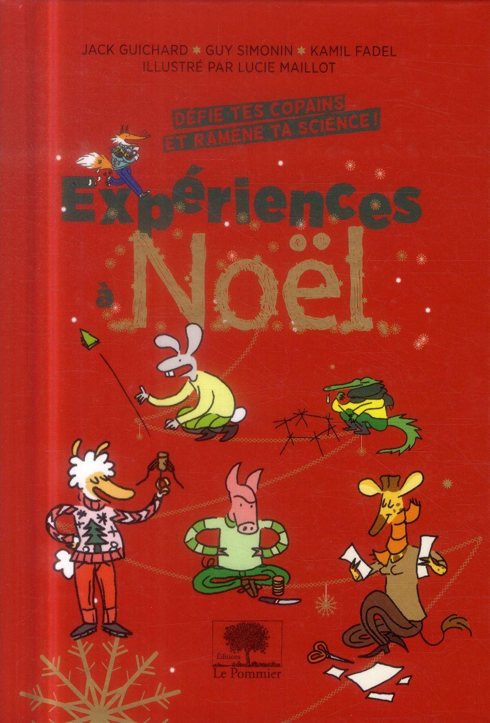 Expériences à Noël ; défie tes copains et ramène ta science !