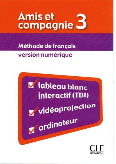 Amis Et Compagnie; Francais ; Niveau 3