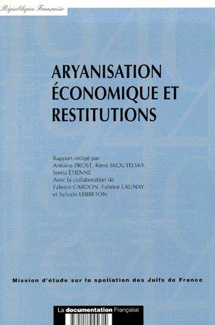Aryanisation économique et restitution