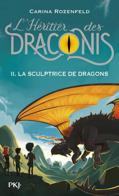 L'héritier des Draconis T.2 ; la sculpture de dragons