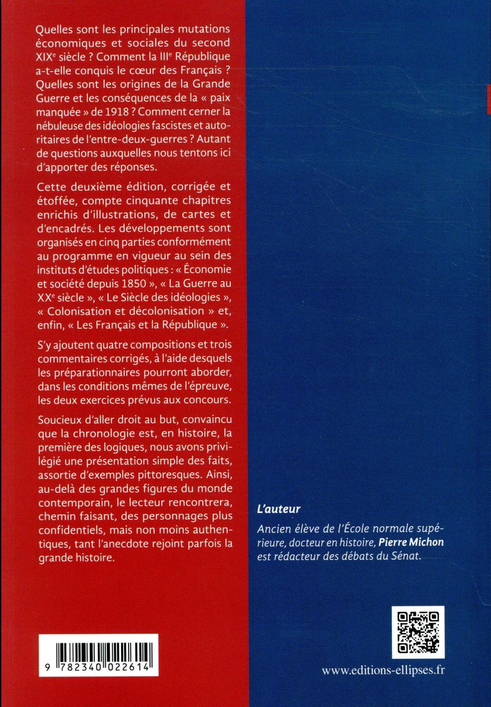l'histoire à Sciences Po ; en 50 fiches (2e édition)
