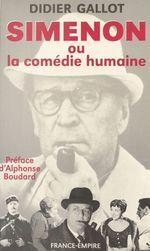 Vente Livre Numérique : Simenon  - Didier Gallot