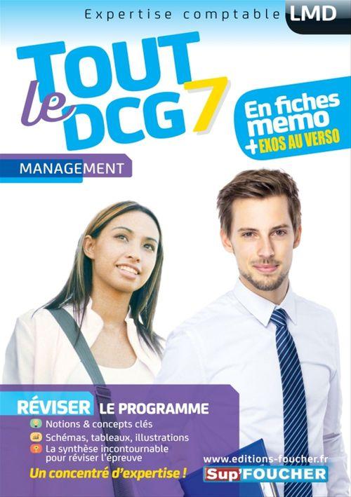 Tout le DCG 7 ; management