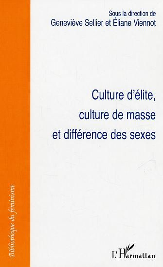 Culture d'elite, culture de masse et difference des sexes