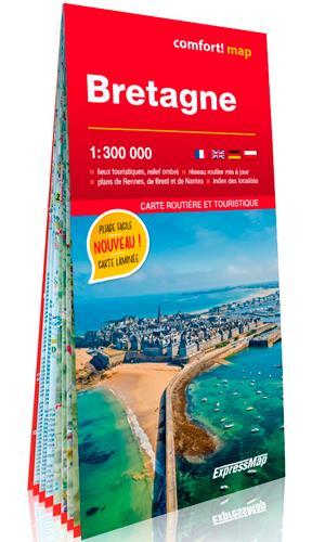 CONFORT MAP ; Bretagne 1/300.000 (édition 2021)