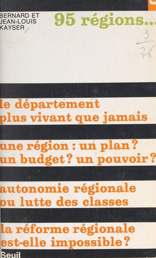 95 régions...