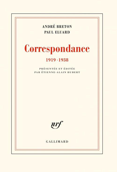 Correspondance ; 1919-1938