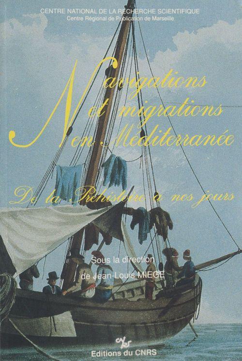 Navigation et migrations en mediterranee
