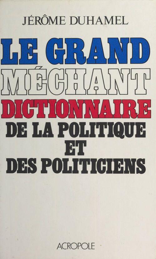 Gd mecht dict.politique