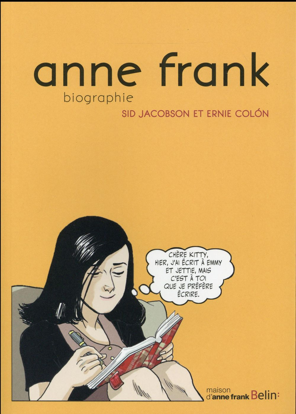 Anne Frank ; biographie