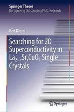 Searching for 2D Superconductivity in La2-xSrxCuO4 Single Crystals  - Itzik Kapon