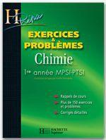 Vente EBooks : Exercices et problèmes CHIMIE - 1re année MPSI/PTSI  - Alain Jaubert  - Magali Giacino  - Jacques Estienne  - Odile Durupthy