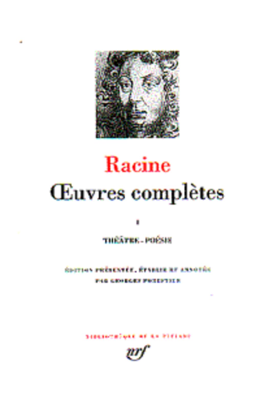 Oeuvres complètes t.1 ; théâtre, poésie