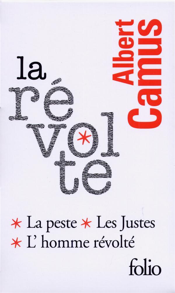 La Revolte : La Peste, Les Justes, L'Homme Revolte (Coffret)