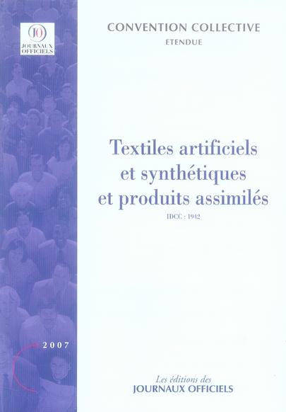 Textiles Artificiels Et Synthetiques Et Produits Assimiles
