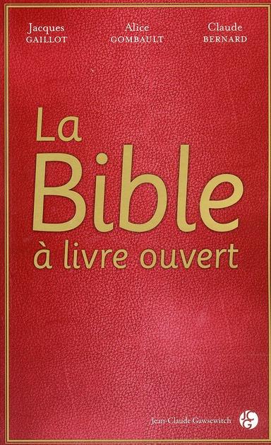 La Bible à livre ouvert
