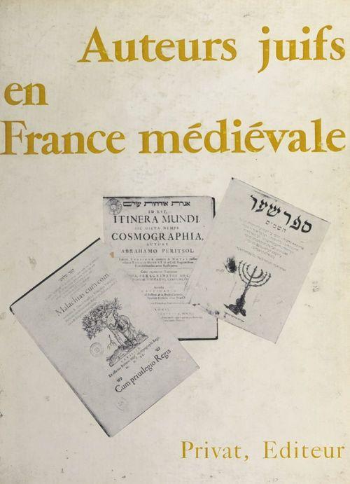Auteurs juifs en France médiévale