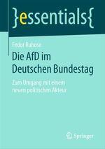 Die AfD im Deutschen Bundestag  - Fedor Ruhose