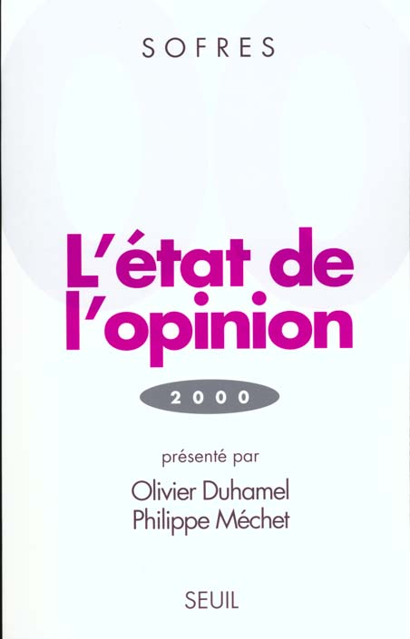 Etat de l'opinion (2000) (l')