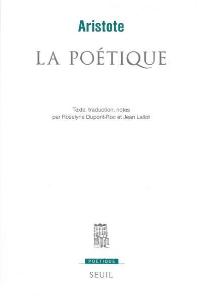 REVUE POETIQUE ; la poétique