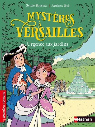 Mystères à Versailles ; urgence aux jardins