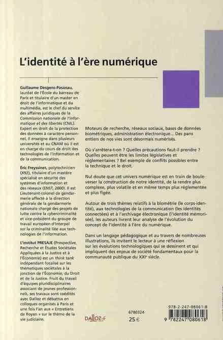 l'identité à l'ère numérique