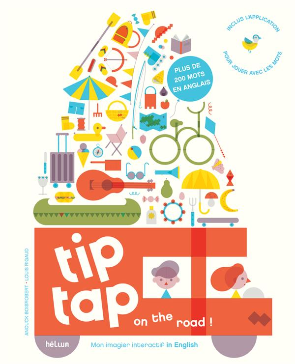 Tip tap ; mon imagier interactif in english