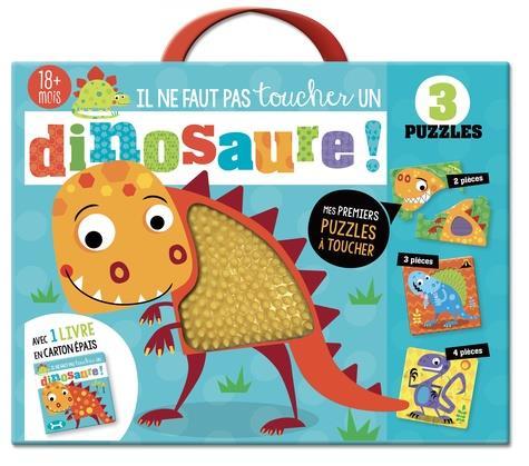 Il ne faut pas toucher un dinosaure ; coffret puzzle