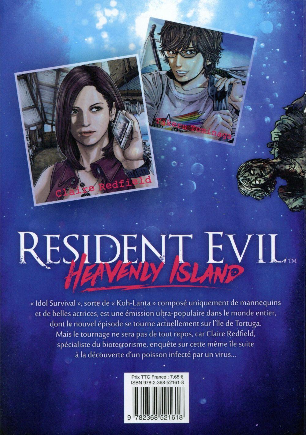 Resident Evil - Heavenly Island T.1