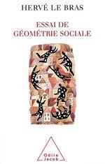 Vente EBooks : Essai de géométrie sociale  - Hervé LE BRAS