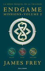 Vente EBooks : Endgame : Missions (volume 2). Aisling, Shari, Maccabee  - James Frey - Nils Johnson-Shelton
