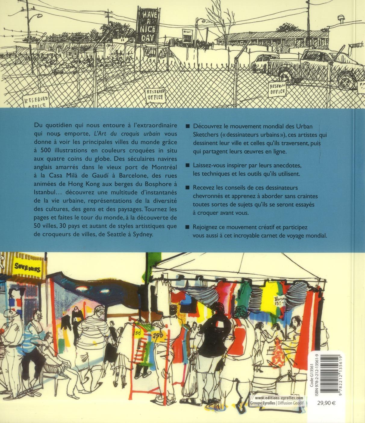 carnets de voyage ; l'art du croquis urbain ; dessiner le monde, de ville en ville